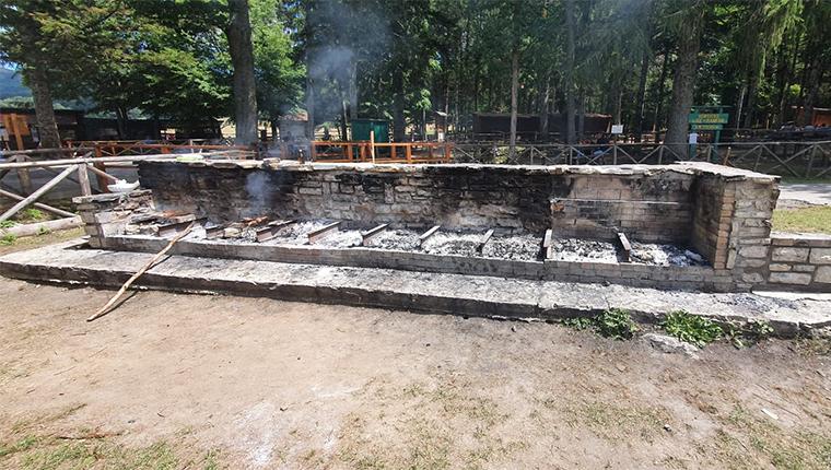 Barbecue Area Picnic Montedimezzo Molise