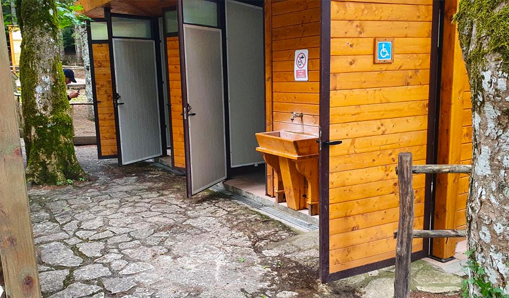 Montedimezzo Area Picnic Servizi igienici